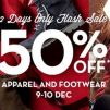 Timberland: 2 Days Only Flash Sale – 50% OFF Apparel & Footwear!