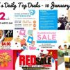 BQ's Daily Top Deals: Love & Bravery Warehouse Sale, Singapore Motorshow 2017, Jay Gee Warehouse Sale, $2 Cupcakes, FREE Soya Bean Drink, $4.90 Pasta & More!