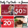 BQ's Daily Top Deals: 25% OFF Scoot & Tigerair, Qatar Airways Travel Festival, Metro 20% OFF Storewide, OG 20% OFF Beauty Brands, Esprit 50% OFF, Watsons 20% OFF Storewide & More!
