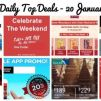 BQ's Daily Top Deals: Buy 1 Get 1 FREE at Eu Yan Sang, Zalora 18% OFF, Marks & Spencer Final Reductions Up to 80% OFF, $4 OFF Uber Ride, $6 OFF ComfortDelGro Ride, AirAsia 20% OFF & More!