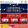 [Qoo10] Our TOP Picks! Mao Shan Wang Durian + FREE 1.5kg Mangosteen + Free Same-day Delivery & More