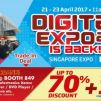 Singapore Expo: Digital Expo 2017 with Up to 70% Discount on Electronics Products & Home Appliances!