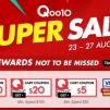 Qoo10: Super Sale with $5, $20 & $100 Cart Coupons Up for Grabs!