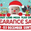 Baby Land: Mega Year End Clearance Sale with Up to 90% OFF Over 80,000 Baby Products!
