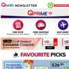 [Qoo10] Shop Wide Varieties in Qprime! Flat Shipping Rate Across All Items and Enjoy FREE Shipping With min. $50 Spend!