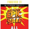 [FOREVER 21] 💥 THIS SALE IS EPIC 💥