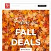 [Kaligo] , enjoy our special FALL DEALS – up to 9,579 miles!