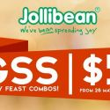 Jollibean: GSS Family Feast Combos at $5 Each