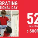 Petit Bateau: Celebrate 52nd National Day With 52% OFF Selected Styles In Stores & Online!