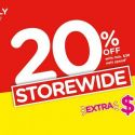 Watsons: Enjoy STOREWIDE 20% OFF with Min. $38 Spend + Extra $5 Coupon In Stores & Online