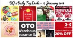 BQ's Daily Top Deals: 50% OFF Singapore Zoo and Alive Museum Tickets, Spotlight Great CNY Sale, OTO Warehouse Sale, POPULAR 15% OFF & More!