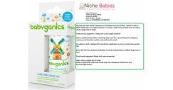 [Nichebabies] SELLING LIKE HOT CAKES!! Babyganics Cold Relief Chest Rub 0.64oz – MADE IN USA! A MUST HAVE when your little