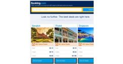 [Booking.com] Bangkok, Phuket and Singapore — great last-minute deals as low as S$ 13!