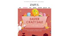 [Zaful] We have EGG-citing MEGA News!You are in…