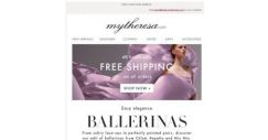 [mytheresa] 48 hours free shipping + Ballerinas from Chloé, Repetto and Miu Miu