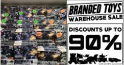 Sheng Tai Toys: Branded Toys Warehouse Sale Up to 90% OFF Bandai, Takara Tomy & more!