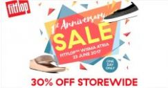 FitFlop: Storewide 30% OFF for One Day Only at Wisma Atria