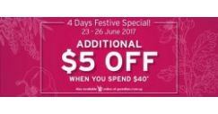 [Guardian] Enjoy 3 for 2 deals plus an additional $5* off at GUARDIAN this festive weekend!