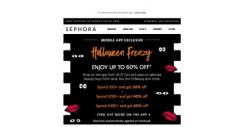 [Sephora] ⚠️Coming Soon: Up to 60% off* for 48 hours only!