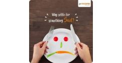 [NTUC Income Insurance] Being a vegetarian doesn't mean eating dull, tasteless food!
