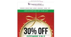 [FragranceNet] 30% OFF + NO EXCLUSIONS. Countdown's ON.
