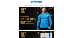 [MyProtein] [EXTENDED] Up to 70% Off Everything! ⚡ 12/12 Flash Sale ⚡