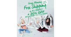 [Aeropostale] shop our EXTENDED green monday sale.