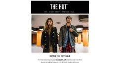 [The Hut] This week only   Extra 20% off sale
