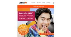 [Jetstar] ✈ Return for FREE sale starts now! Book your FREE flight back to Singapore!