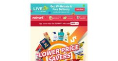 [Redmart] $20 OFF with $40 spent… Grab it fast!