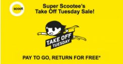 Scoot: Take Off Tuesday – Pay to Go, Return for FREE to Berlin, Honolulu, Athens, Gold Coast, Bangkok & More!