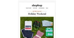 [Shopbop] What to pack for the holiday weekend