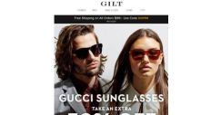 [Gilt] Extra 50% Off: Gucci Sunglasses From $49