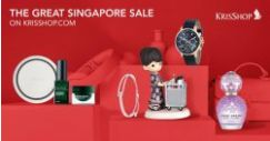KrisShop: Great Singapore Sale with Up to $100 OFF Electronics, Beauty, Travel Accessories & More Online!