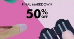 Pretty Ballerinas: Enjoy 50% OFF All Sale Items for a Limited Time Only!