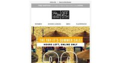 [Saks OFF 5th] The sun is setting on this summer sale ➡