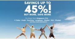 AirAsia: Save Up to 45% on Flights when You Book More Tickets!