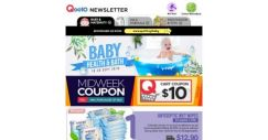 [Qoo10] Grab $10 Off! Braun Thermometer $50, Bamboo Fibre Wipes $9.90 [10Packs x 10s], Johnson's Baby Bath $9.90 [1L x 2 + Free 600ml] & More!