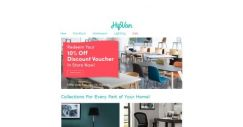 [HipVan] Refresh your Living Space with 10% OFF Storewide (Redeem your Voucher In-Store)