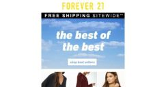 [FOREVER 21] OFFICIALLY FALL