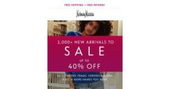 [Neiman Marcus] 40% off new styles added to sale