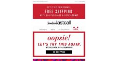 [Last Call] Oops! After a brief hiccup, we return you to BIG holiday deals: Get shopping!