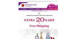 [StrawberryNet] , Don't Let Extra 20% Off Slip out of Your Hands!