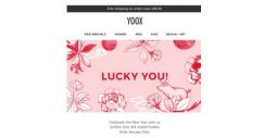 [Yoox] 🎊 Lucky You! Enjoy an EXTRA 20% OFF EVERYTHING