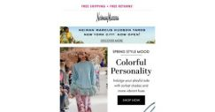 [Neiman Marcus] Bring out your colorful personality