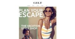 [Gilt] Vacation planning starts here. Shop looks for your next getaway.