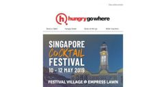 [HungryGoWhere] A free cocktail shaker set + tipples & treats at the Singapore Cocktail Festival Village for only $35