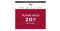 [Yoox] 48hrs only: 20% OFF
