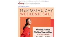 [6pm] Up to 80% off Memorial Day Weekend Sale!