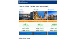 [Booking.com] Salou, Phuket and Singapore — great last-minute deals as low as S$ 12!